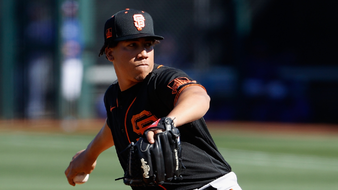Giants' Rule 5 pick shows off 'absolutely ridiculous' slider in telling Padres test