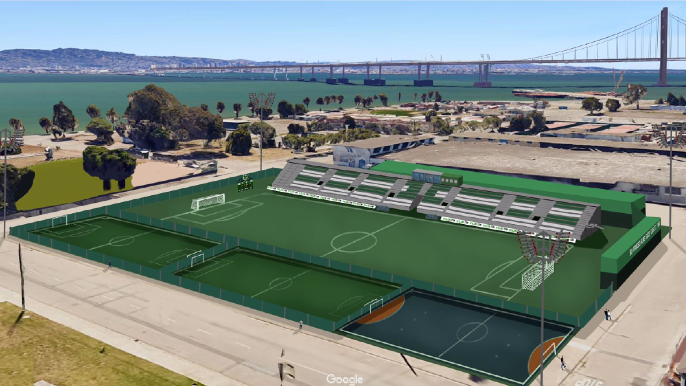 San Francisco Glens SC announces plans for soccer-specific facility at Treasure Island