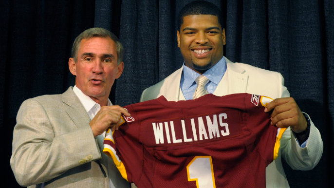 Trent Williams explains how Mike Shanahan 'changed my life'