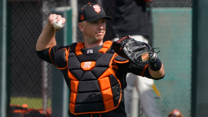 Giants Opening Day lineup sees Buster in unfamiliar spot