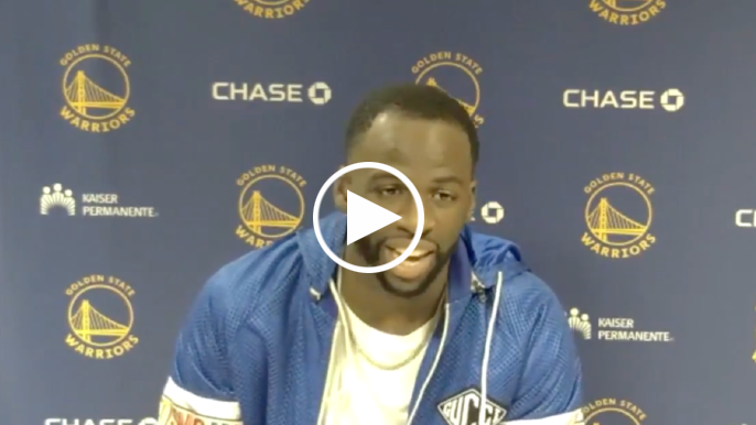Draymond Green explains why he's not motivated by play-in game
