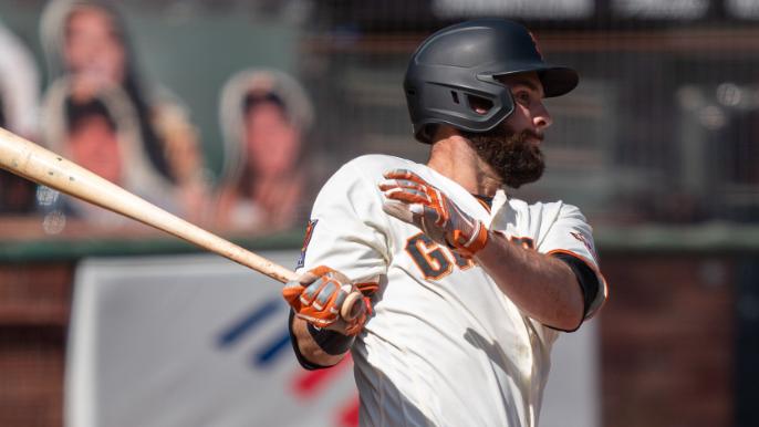 Brandon Belt is the face of Giants lefty batters' slow start