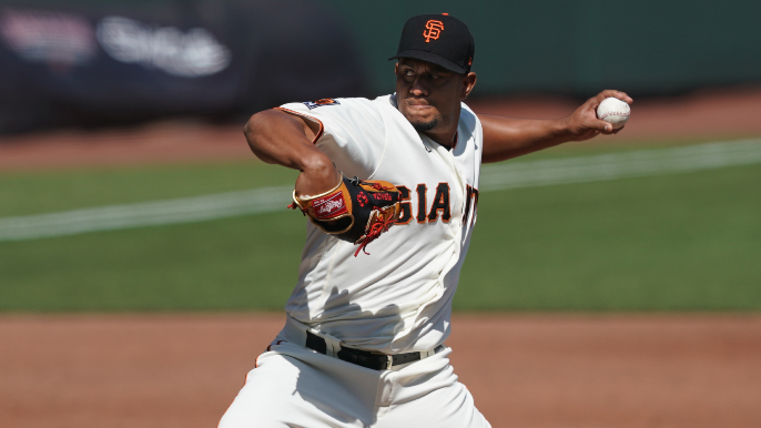 Giants' steady and 'composed' reliever quietly rescues them again