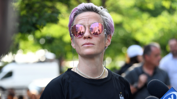 Megan Rapinoe slams Draymond, says he 'showed his whole ass' with equal pay comments