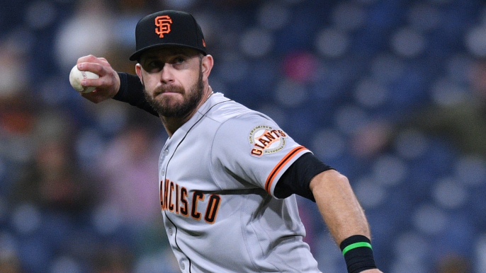 Evan Longoria out of Giants lineup with vaccine side effects