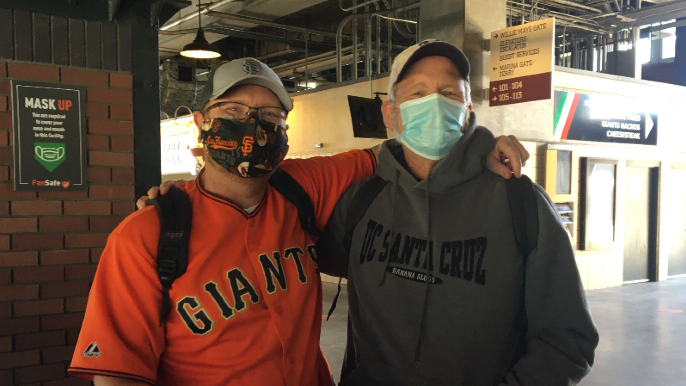 Giants fans are back at Oracle Park after a year away that 'sucked'