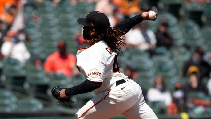 Johnny Cueto and veterans set the tone in perfect home opener for Giants