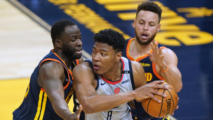 Takeaways after Warriors blow late lead to Wizards with shocking four-point play, failed shots
