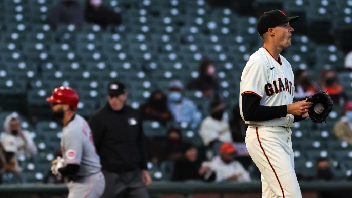 Giants' bats and fans stay away as win streak gets snapped at four