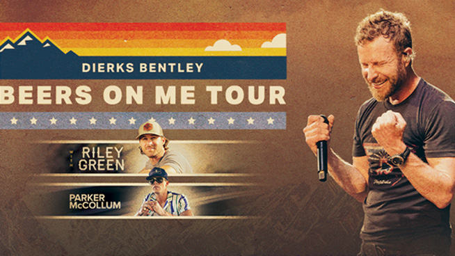 Enter for your chance to see Dierks Bentley Shoreline