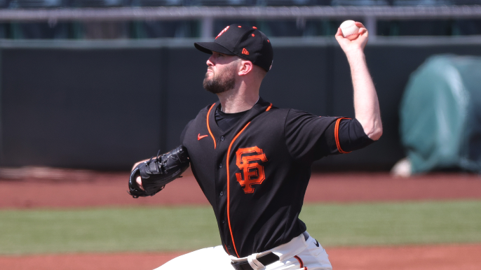 Alex Wood looks on track to push his way into Giants rotation