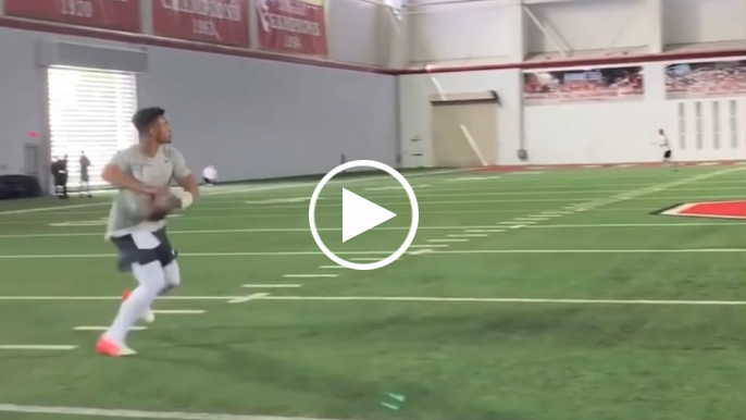 Check out some throws from Justin Fields' un-televised second pro day