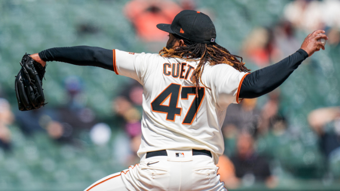 Austin Slater comes through, Johnny Cueto leaves early in worrisome Giants win