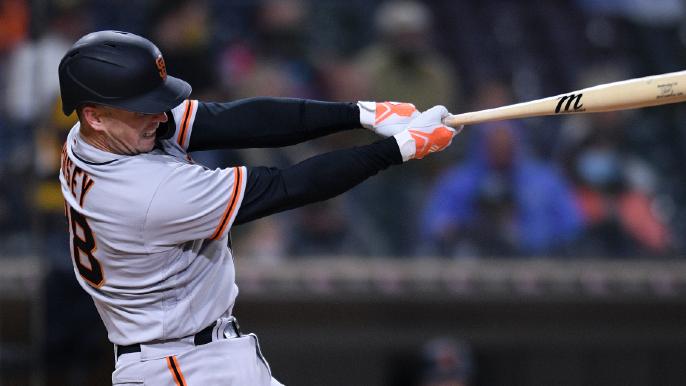 A lot has changed with Buster Posey's game, and it's working