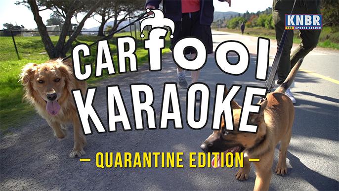 Carfool Karaoke 2.0: Larry Krueger is a loser, baby