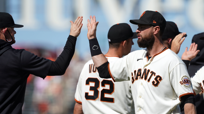 First-place Giants are sending message that they are 'here to stay'