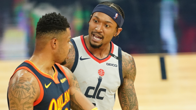 Bradley Beal's wife goes at Kent Bazemore for hamstring comment