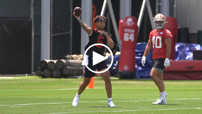 Mini notes from Day 1 of 49ers rookie minicamp