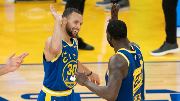 Stephen Curry one of three finalists for NBA MVP, Draymond finalist for DPOY