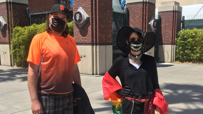 What Pride Day means to Giants fans: 'We don't usually get a lot of acceptance and/or recognition'