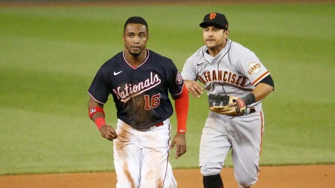 How Giants' baserunning gambit quietly worked while Nationals' flopped