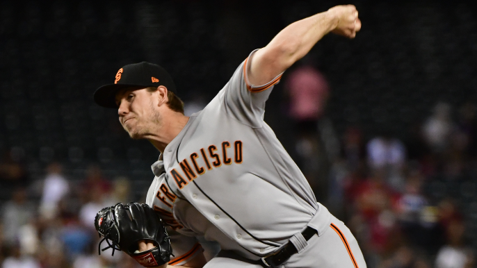 Giants' deep bullpen forces them to option lefty with 0.49 ERA