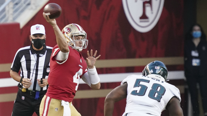 Nick Mullens signs with Eagles, completing offseason QB swap