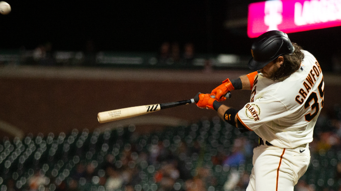 Brandon Crawford is dropping jaws among the Giants, if not the All-Star voters