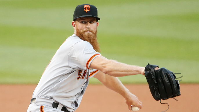 How Giants' emerging long reliever has made it very difficult to send him down