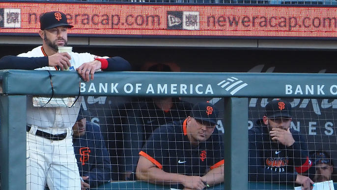 Giants have meeting ahead of MLB crackdown on sticky substances