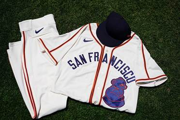 Giants to wear San Francisco Sea Lions jerseys on Saturday to commemorate Juneteenth