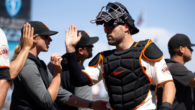 Behind Curt Casali's frustrations, which must be easing right about now