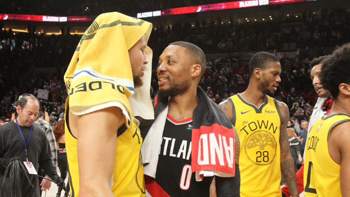 Anthony Slater explains why Warriors could be players for Damian Lillard