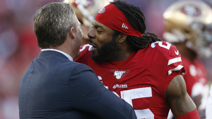 John Lynch offers to support Richard Sherman, family 'any way we can'