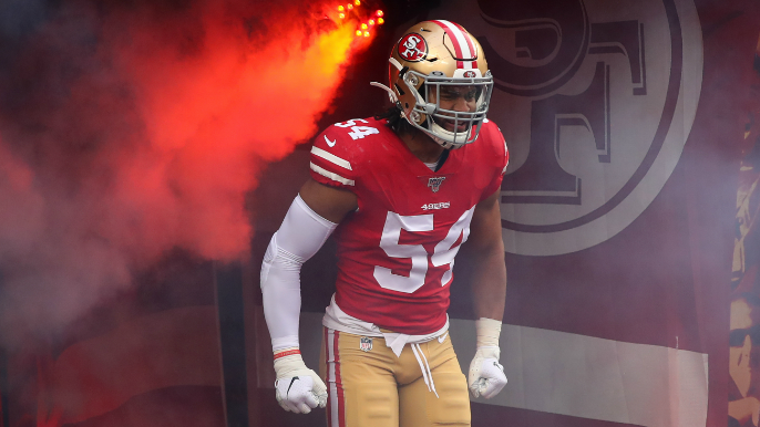 49ers make Fred Warner league's highest paid linebacker with 5-year extension