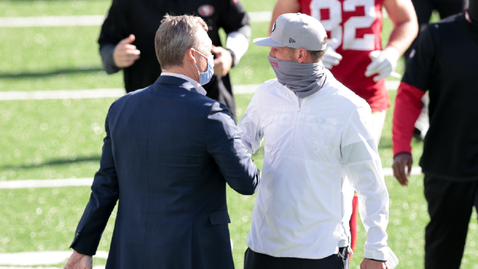 49ers Notebook: Quarterback non-competition, Trey Lance's contract and injury roundup