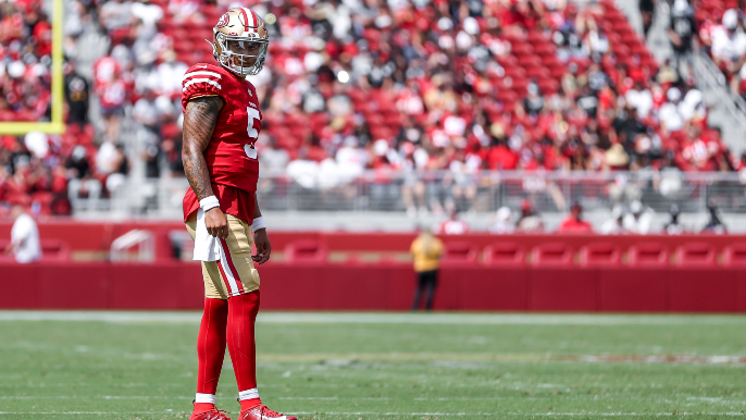 49ers Notebook: Josh Norman arrives and Trey Lance's splint comes off