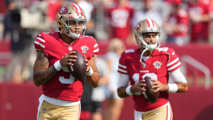 Steve Young explains why Garoppolo, Lance situation is 'fraught with terror'