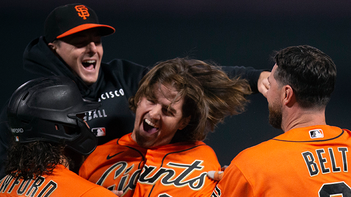 'One of the coolest moments of my life': Kevin Gausman soaks in epic game-winning hit