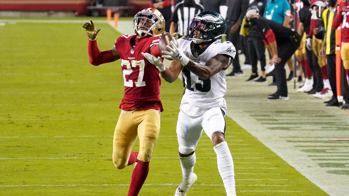 Three things to look for in 49ers-Eagles matchup, and one X-factor