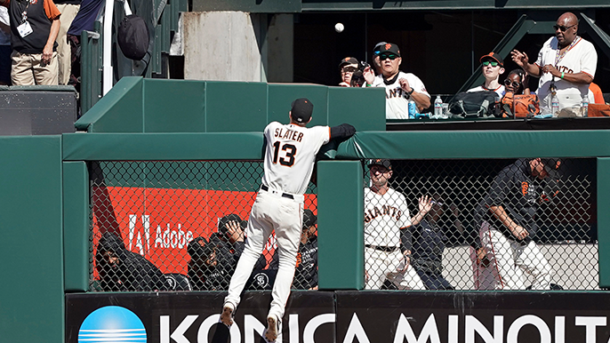 Atlanta wins pitchers duel, sending Giants into final road trip with a loss