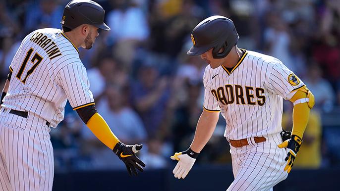 Padres take advantage of rare poor Logan Webb start in 7-6 extra innings win