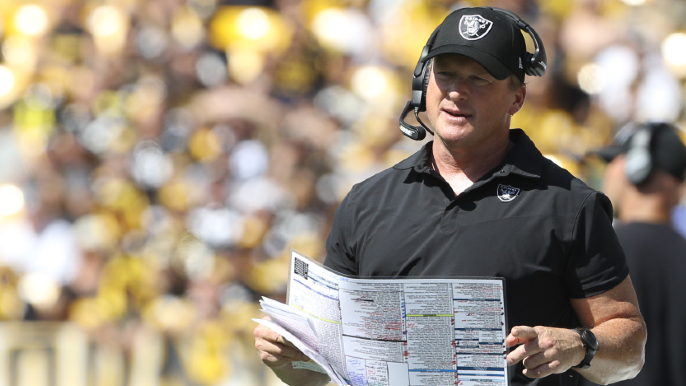 Jon Gruden to resign after leaked emails show racism, homophobia, misogynism [report]