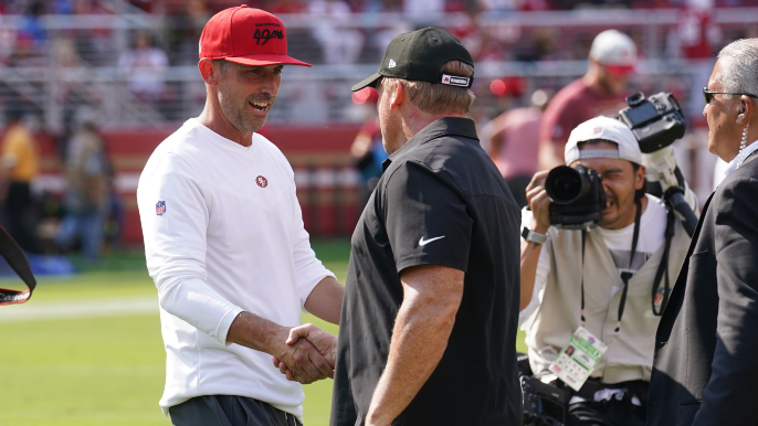 Kyle Shanahan reacts to Jon Gruden's resignation amid email scandal