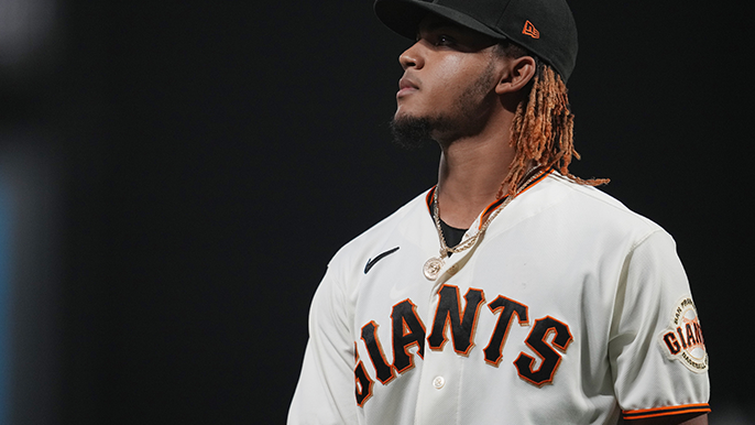 Camilo Doval allowed the last run of the Giants' season, but he's not going anywhere