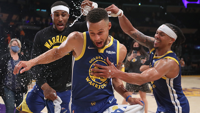Curry named to NBA 75th Anniversary Team