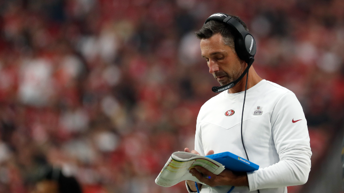 Is Shanahan's lost play-calling rhythm a symptom or source of 49ers' woes?