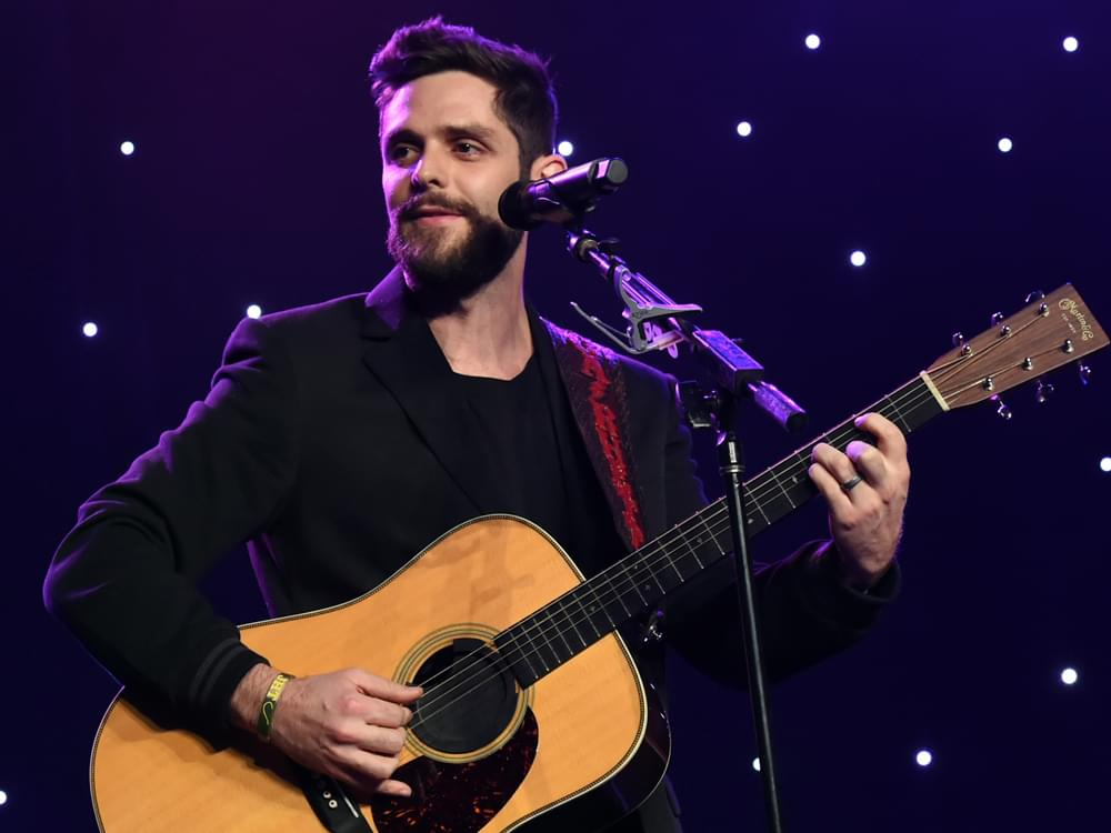 "Thomas Rhett Reminisces About His First Truck ""Fergie"" That Inspired New Song, ""That Old Truck"""