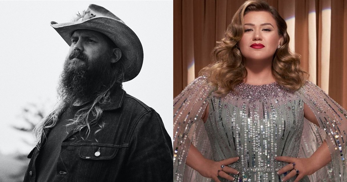 """Chris Stapleton & Kelly Clarkson Get in the Holiday Mood with """"Glow"""""""