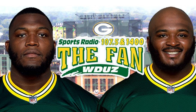 It's the Kenny Clark Show and Elgton Jenkins Show